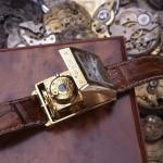 Foto-zegarek - ręcznie wykonany fotografujący zegarek, powstawał pół roku, Zegarek na dobrym chodzie.